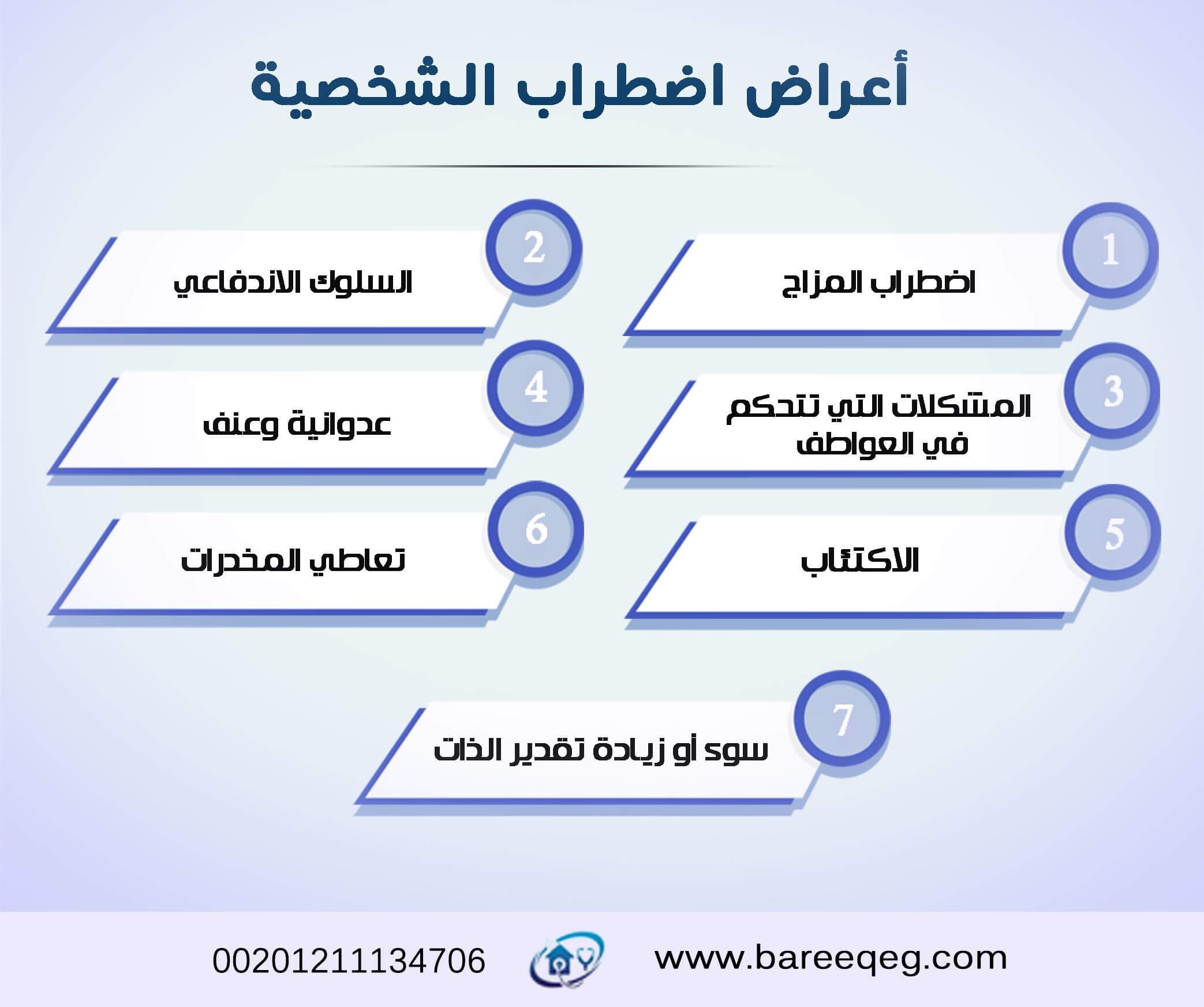 أعراض اضطراب الشخصية