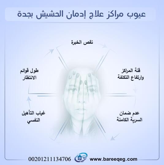 عيوب مراكز علاج إدمان الحشيش بجدة: