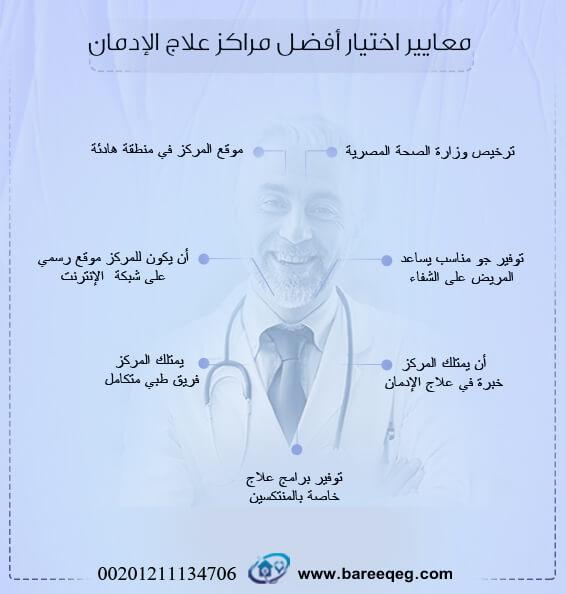 معايير اختيار أفضل مراكز علاج الإدمان